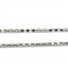Łańcuszek srebrny Przyciemniany 55 cm