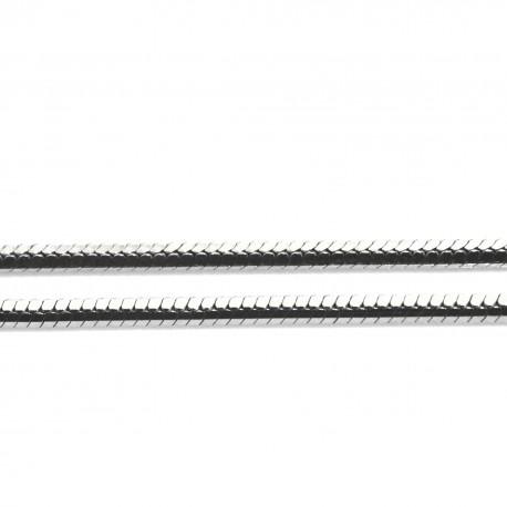 Łańcuszek rodowana linka 50 cm