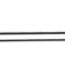 Łańcuszek rodowana linka 45 cm