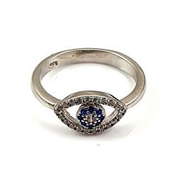 Modny pierścionek srebrny...