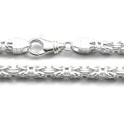 Łańcuch srebrny splot...