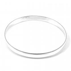 Bransoleta srebrna koło...