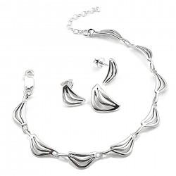 Klasyczny komplet srebrny