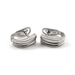 Klasyczne kolczyki srebrne...